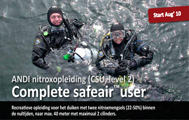 ANDI Complete SafeAir user (CSU) - advanced nitrox opleiding