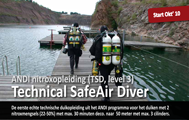 ANDI Level 3 - 50mtr / Technical SafeAir diver (TSD) - technical nitrox opleiding